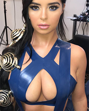 Demi Rose Is Like Really Busty and Stuff