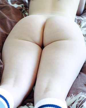 Nude Round Butt
