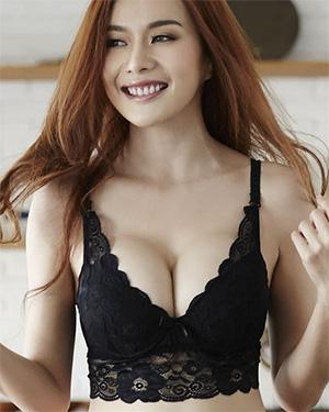 Elle Gorgeous Asian Playmate Shows It Off