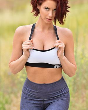 Emily Addison Sexy Morning Workout