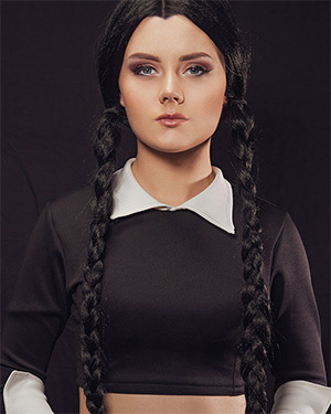 Emily Cutie The Addams Family Cosplay
