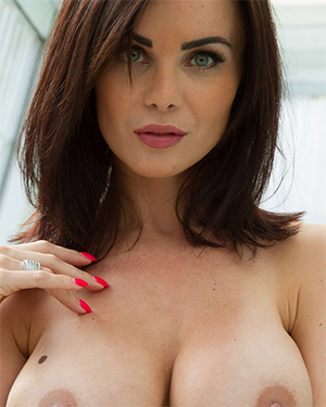 Emma Glover Is A Naked Tennis Player