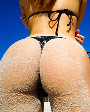 Eva Lovia Miami Beach Butt