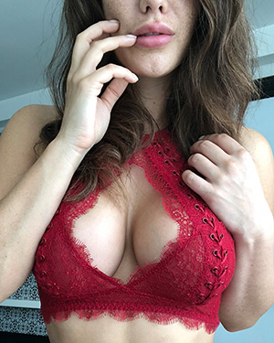 Eva Lovia Seeing Red Nudes