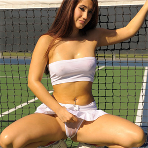 sexy tennis porn Sexy Tennis Beauties Ivanovic Wozniacki Sharapova Tennis; Tits, Small   08:00 Angelina Ashe Learns to Hit a Backhand and Suck and Fuck on Tennis .