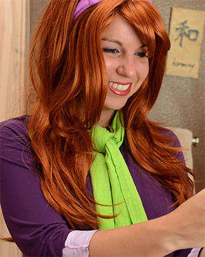 Freckle Mystery Girl Cosplay