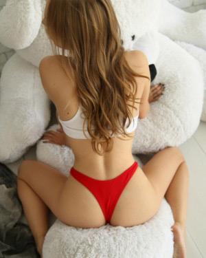 FridayQ Tiny Red Thong StasyQ