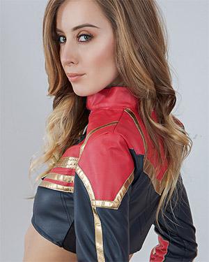 Haley Reed Plays Captain Marvel