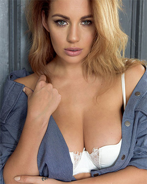 Holly Peers Jean Jacket Sex Appeal
