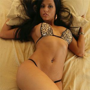 Janessa Brazil Tiny Bikini