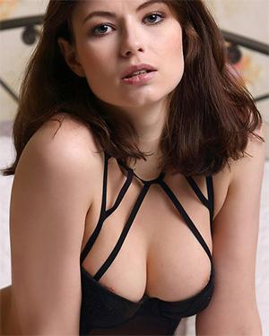 Jenna Black Lingerie Stripping