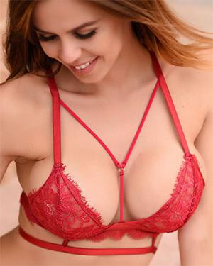 Jennifer Ann Red Hot Lingerie