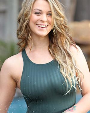 Jenny Super Busty Swimsuit Heaven