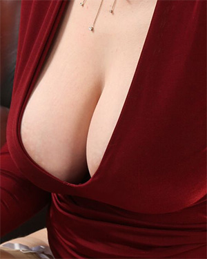 Jenny James That Red Dress Vixen