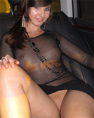 Jeny Smith See Thru Dress In Public