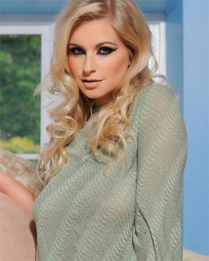 Jess Davies Purple Panties