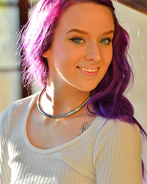 Jessica Purple Haired Beauty for FTV Girls