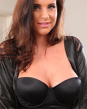 Jessica R Busty In Black