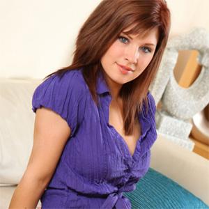 Jocelyn Purple Stockings Goddess
