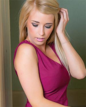 Jodie Piper Purple Dress Cosmid