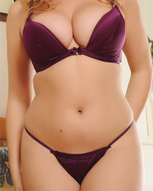 Jodie Gasson Busty In Purple