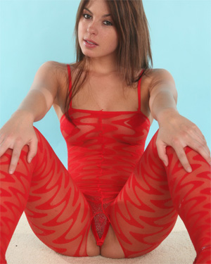Kari Sweets Revealing Bodystocking