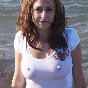 Karly Wet Shirt