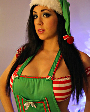 Kayla Kiss Santas Favorite Helper