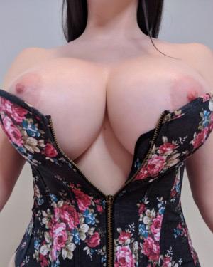 Kayla Kiss Sexy Flower Corset