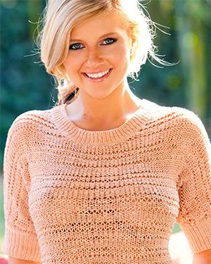 Kinzie Van Playboy Sweater Tits