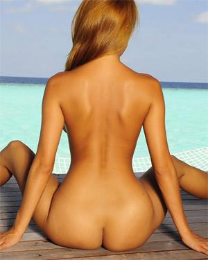 Kt So Pink Bikini Tropics