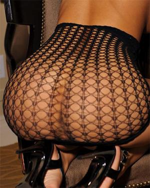 Kt So See Thru Fishnet