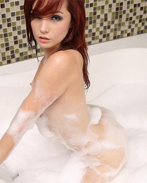 Kylie Cole Nude Bubble Bath