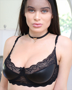 Lana Rhoades Is Playing The Bad Kitty