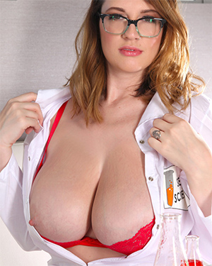 Lana Kendrick Busty Scientist