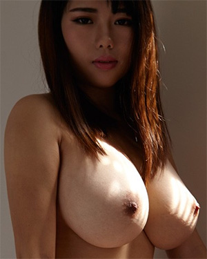 Larisa Asian Model With Huge Boobs