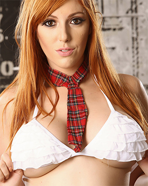 Lauren Phillips Busty Schoolgirl