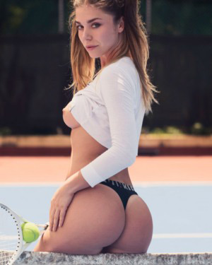 Lily Chey Naked Tennis Star