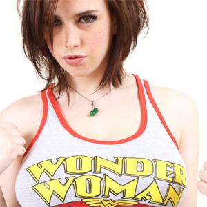 Louisa May Wonder Woman
