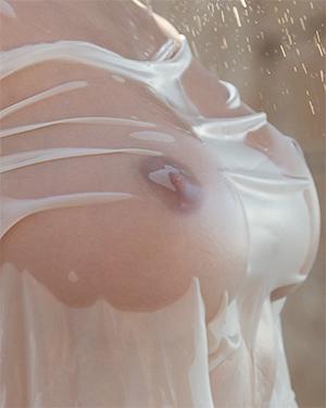 Lucy Li Wet Shirt Adventures
