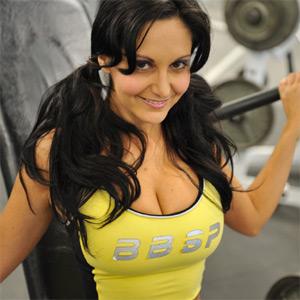 Luna Gym Voyeur