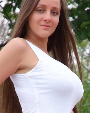 Melony Busty White Dress