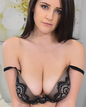 Michele James Sexy and Busty Newbie