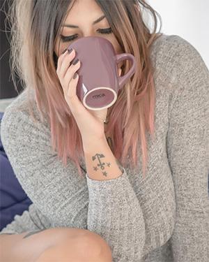 Milou Morning Coffee Suicidegirl