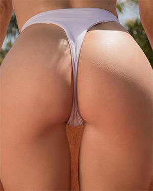 Miluniel Louis Has A Nice Bubble Butt