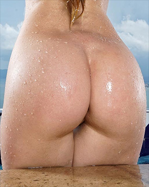 Misty Lovelace Getting Wet and Wild