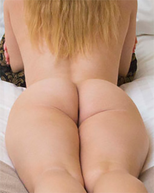Misty Day Round Butt In Bed