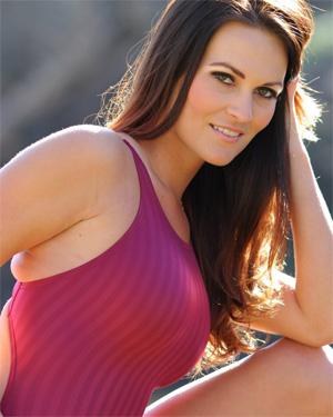 Morgan Maroon Bikini
