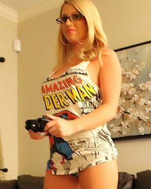 Natasha Adams Gamer Girl