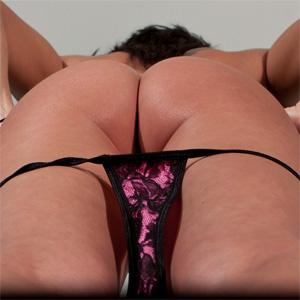 Nikki Sims Frilly Purple
